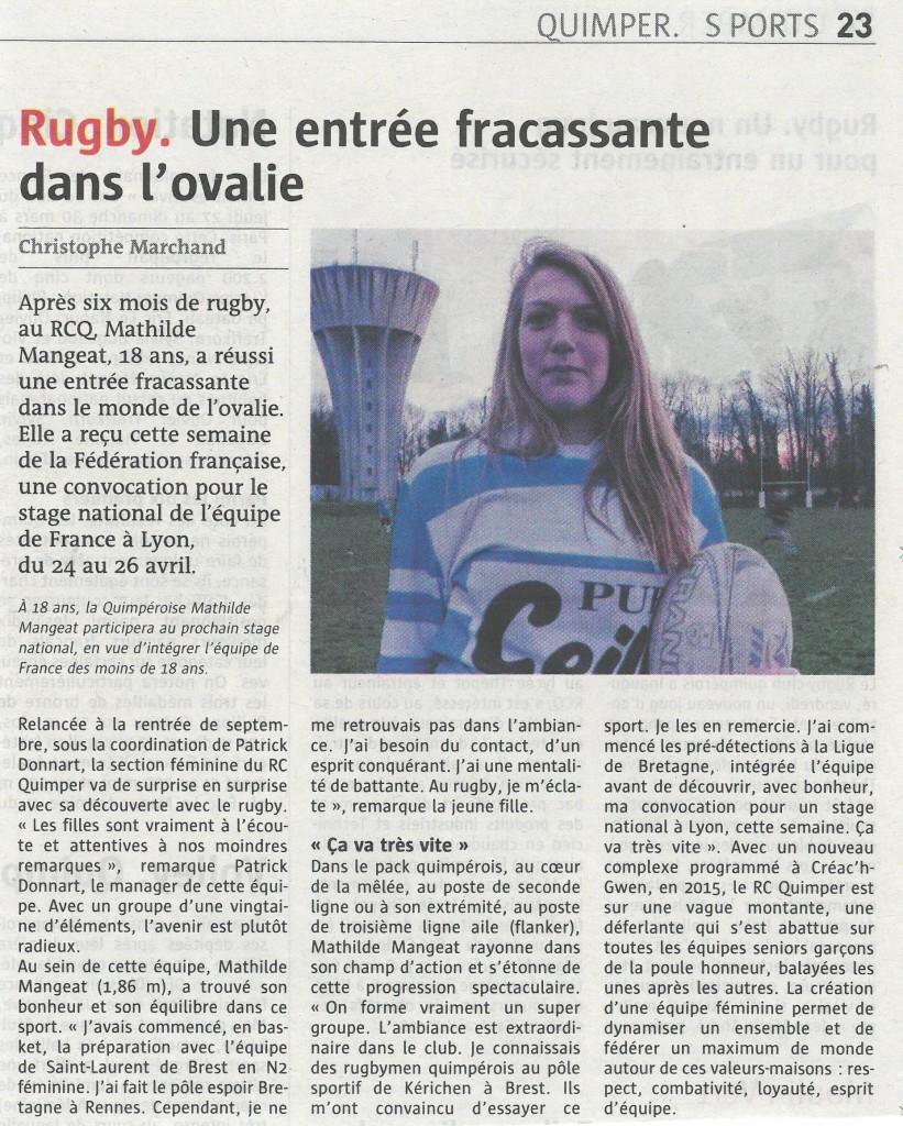 Mathilde France U18