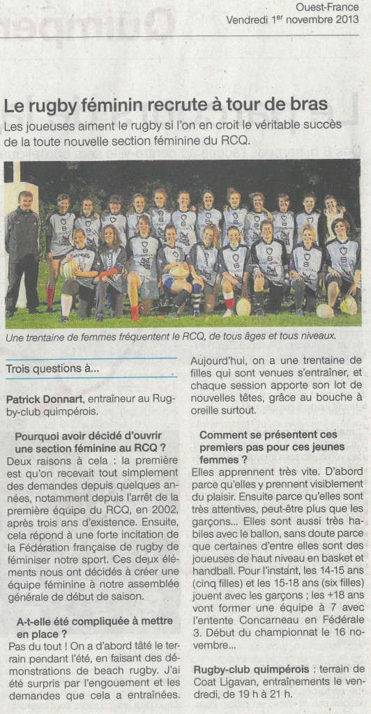 ouest france 01 nov 2013a